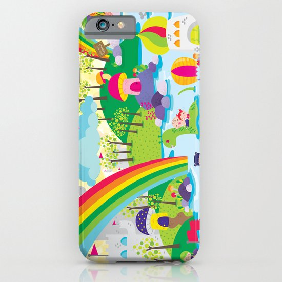 rainbow land iPhone & iPod Case