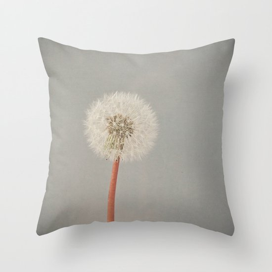The Passing of Time Throw Pillow