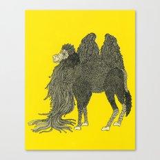 Yellow Camel Canvas Print