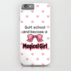 kawaii quit school become a magical girl melty text Slim Case iPhone 6s