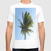 Palm Mens Fitted Tee White SMALL