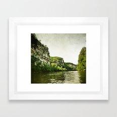 Along the River Framed Art Print