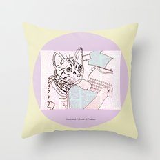 Dedicated Follower Of Fashion  Throw Pillow