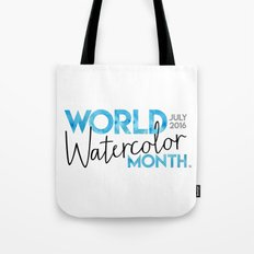 World Watercolor Month July 2016 Tote Bag