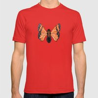 Moth Mens Fitted Tee Red SMALL