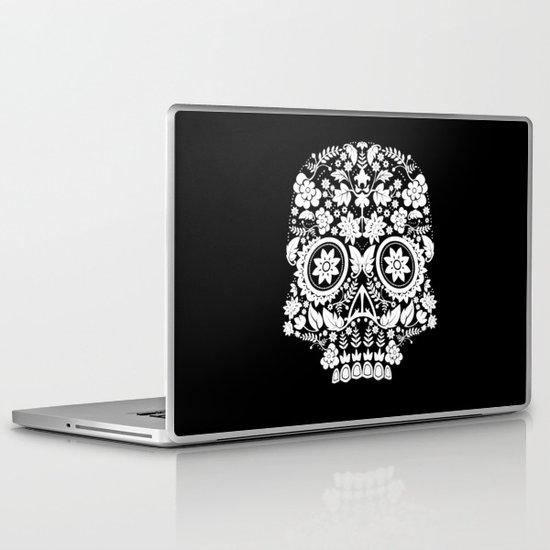 Original Day Of The Dead Skull Laptop & iPad Skin