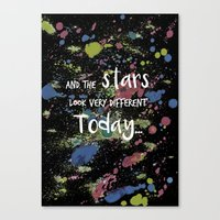 And The Stars Look Very … Canvas Print