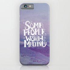 Happy Snowman Alt. Slim Case iPhone 6s