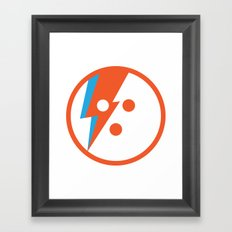 David Bowlie Framed Art Print