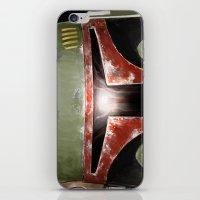 Boba Fett. Close up. iPhone & iPod Skin