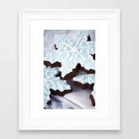 Winter food Framed Art Print