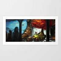 Dear Wishtree Art Print