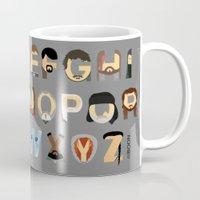 Game Of Thrones Alphabet Mug