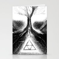 Triforce Roots Stationery Cards