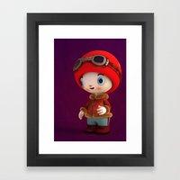 ShroomZee Naut Framed Art Print