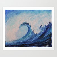 SURF II Art Print