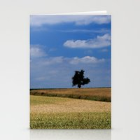 Wheat Field- JUSTART © Stationery Cards