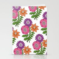 Bouquet Pattern Stationery Cards
