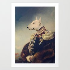 King Bully Art Print