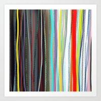 Shower Curtain Hippie Curtains,Boho curtain,Gypsy,Striped CURTAIN Rustic,Fabric,Ribbon Rainbow,Tee Art Print