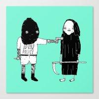 Rob Death Canvas Print