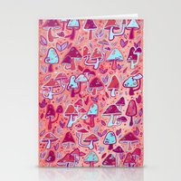 Shroom Forest Stationery Cards