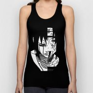 Sasuke And Itachi Unisex Tank Top