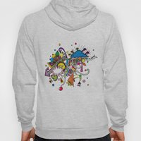 Colored Doodle Hoody