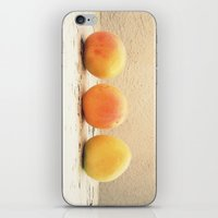 3 Apricots iPhone & iPod Skin