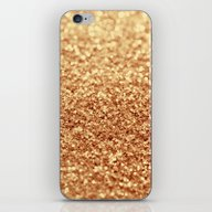 iPhone & iPod Skin featuring Gold by Ingrid Beddoes