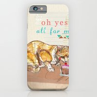 iPhone & iPod Case featuring Illustration Friday- Dessert by Jo Cheung Illustration