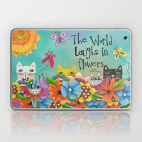 The World Laughs In Flow… Laptop & iPad Skin