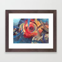Tidal Bore Framed Art Print