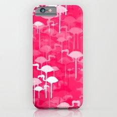 Flamingo land flip repeat, new colorway 5 Slim Case iPhone 6s