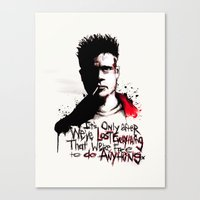Lost Everything Canvas Print