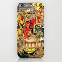 iPhone & iPod Case featuring the daily lives of hungry ghosts by Lanny Quarles