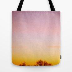 Rosey Morning Sky Tote Bag