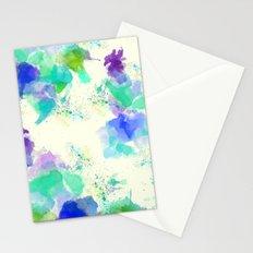 Printed Silk Ocean Spray Stationery Cards