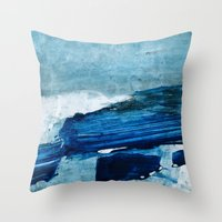 Arctic Landscape Throw Pillow