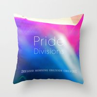 Pride Divisions Throw Pillow