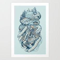 Life & Love at Sea Art Print