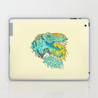 Jurassick Puke Laptop & iPad Skin