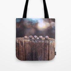 5 Acorns Tote Bag