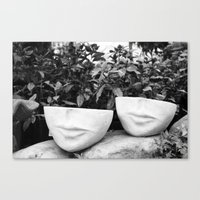 Sightless Canvas Print