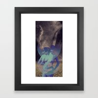 STELLAR WOMAN 002 Framed Art Print