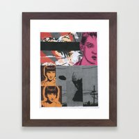 Collage #2 Framed Art Print