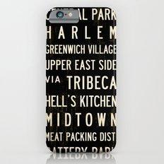 NYC Transit Sign Slim Case iPhone 6s