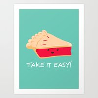 A Slice Of Advice! Art Print