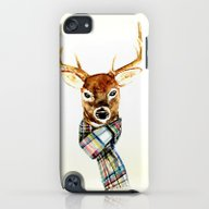 Deer Buck With Winter Sc… iPod touch Slim Case