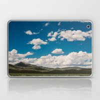 Puffy White Clouds With … Laptop & iPad Skin
